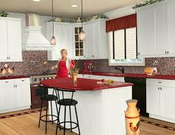 big modern kitchens kitchen furniture beautiful red kitchen cabinet design with