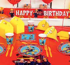 fireman sam party party pieces blog u0026 inspiration