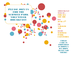 pta meeting invitation schmitz park volunteer breakfast genesee hill pta blog
