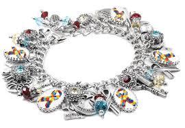 design charm bracelet images Autism awareness charm bracelet blackberry designs jewelry JPG