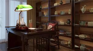 le bureau banquier vintage le de table banquier vert couvercle en verre bureau en