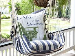 Comfortable Porch Furniture Swing In Style With This Comfortable Outdoor Chair Southern Living