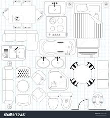 floor plan furniture 9 plush free icons vector home pattern
