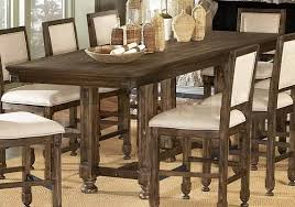 Dining Room Table Rustic Rustic Counter Height Dining Table Sets Visionexchange Co