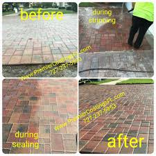 Brick Pavers Pictures by Premier Coatings Brick Paver Sealing Pasco And Hernando County