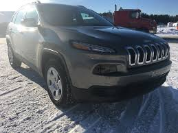 sport jeep cherokee 2017 used 2017 jeep cherokee sport in baie comeau used inventory