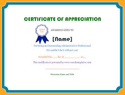 doc 504387 certificate of appreciation template for word u2013 30