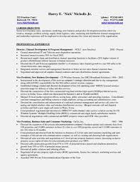 Sales Marketing Resume Sample by Amazing Resume Objectives For Management U2013 Resume Template For Free