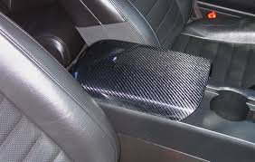 05 mustang interior 2005 2009 mustang carbon fiber arm rest cover tc10024 lg38