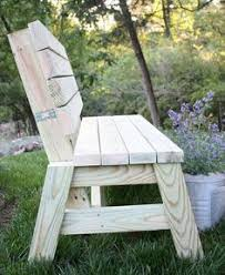 Outdoor Wooden Bench Plans To Build by Diy Sturdy Garden Bench Free Building Plans Farmhouse Design