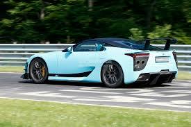 lexus sport car lfa spyshots lexus lfa tokyo final edition autoevolution