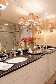 seattle candice olson lighting bathroom traditional with black
