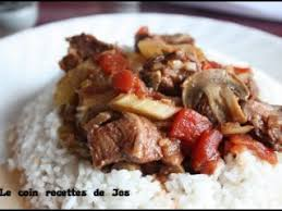 recette de cuisine africaine boeuf africain mijoteuse recette ptitchef