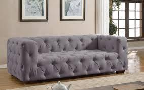 Modern Tufted Leather Sofa by Sofas Affordable Sofas Modern Designer Sofas Sofamania Com