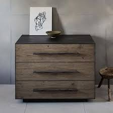 West Elm Bedroom Furniture by Massaro 3 Drawer Dresset Drawers Products And Metals