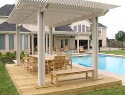 5 Ft Patio Swing With Cedar Pergola Create by Pros And Cons To Outdoor Pergolas