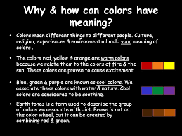 essential question what can color tell us the color wheel the