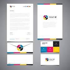 coorporate design corporate identity design vector free