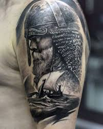 25 gorgeous half sleeve tattoos viking ideas on pinterest