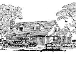 dreamhome source cape cod house plan with 1239 square feet and 3 bedrooms from dream