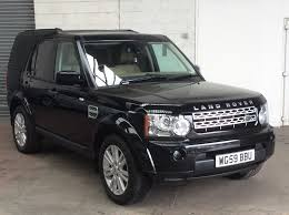 land rover discovery hse 2009 59 3 0tdv6 auto black leather