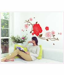 oren empower stylish removable home decor flower large wall