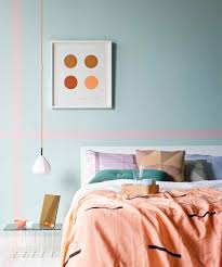 Light Blue Bedroom Love The by Sarah Ellison For Real Living May 2013 Linen Blanket Pink Wall
