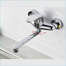 popular single handle wall mount kitchen faucet buy cheap single