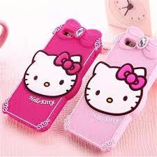 cool cartoon cute kitty diamond soft silicone case cellphone