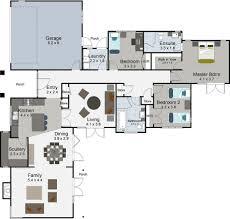 One Level House Plans Rakaia Floor Render House Plan Bedroom Nz Perky Single Level Plans