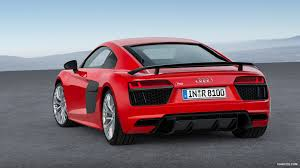 red audi r8 wallpaper 2016 audi r8 v10 plus dynamit red rear hd wallpaper 13