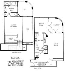 city walk floor plan et 1