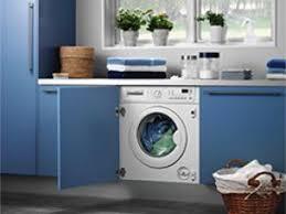cuisine avec lave linge lave linge encastrable et intégrable par meubles et ustensiles de
