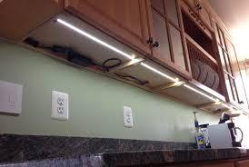 Kitchen Cabinet Lighting Options Cabinet Lighting Stunning Nicor Led Under Cabinet Lighting Design