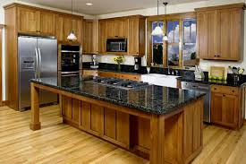 American Kitchen Ideas Beautiful Kitchen Design Style And Contemporary Glass Table Offer