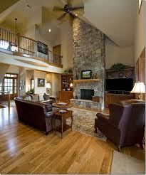 house plans with vaulted ceilings great room of the hollingbourne house plan 990 built in cabinetry