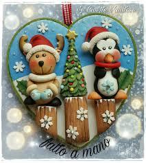 christmas polymer clay fimo creazioni in fimo pinterest