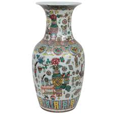 Antique Chinese Vases For Sale 19th Century Chinese Famille Rose Vase For Sale At 1stdibs