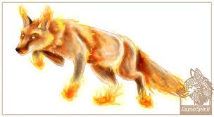 fire fox digital sketch by lupusspirit on deviantart