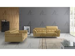 Yellow Leather Sofa Yellow Italian Leather Sofa Set
