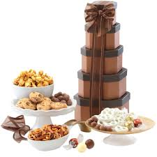 amazon com wine country gift baskets tower of sweets gourmet
