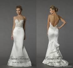 pnina tornai wedding dress uk 2015 pnina tornai mermaid wedding dresses spaghetti sleeveless