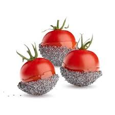 cuisine amour tomato d amour with poppy seeds scinnov cuisine innovation