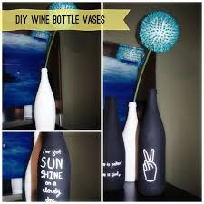 Diy Wine Bottle Vases 28 Crafts To Recycle Wine Bottle Into Home Decor Items Home