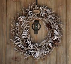 Decorating Pine Christmas Wreaths by Outdoor Christmas Decoration