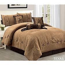 amazon com 7 piece luxury western bedding oversize king size