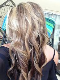 hi and low lights on layered hair brown lowlights and blonde highlights hairstyles pinterest