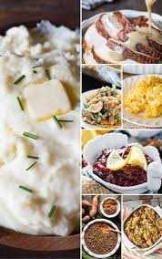 traditional thanksgiving dinner menu recipes turkey sides