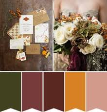 fall wedding color palette autumn wedding colour palette cornwall wedding and pictures