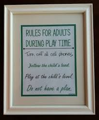 growing play for adults during play time